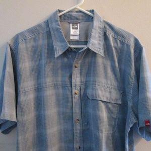 Carhartt Mens Button-Down Plaid Shirt S/S Sz XL